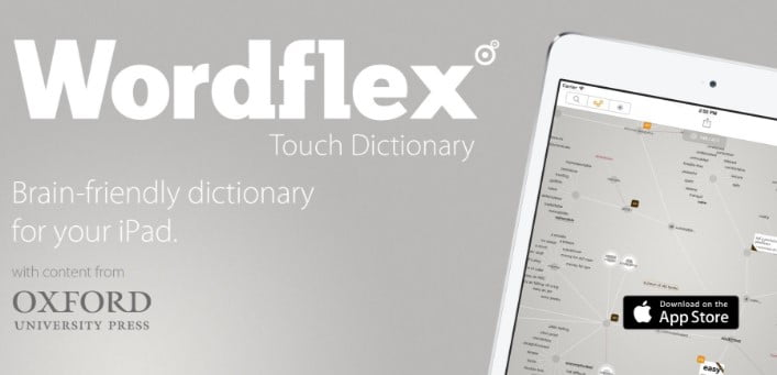 Wordflex touch dictionary with content from oxford