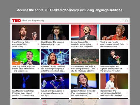 ted talks learn anything online apps