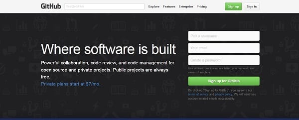 github tools for web designers and developers