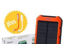 GRDE Solar Smartphone Charger