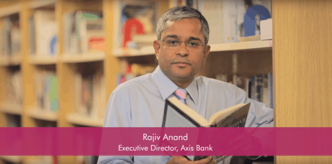Axis Bank Executive Director Rajeev Anand