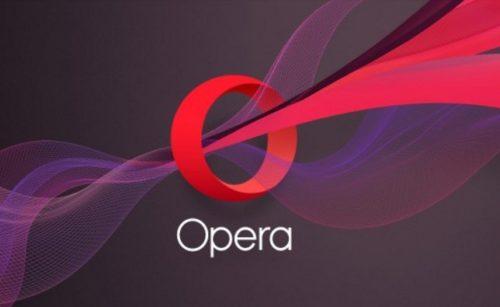Opera browser offering inbuilt VPN