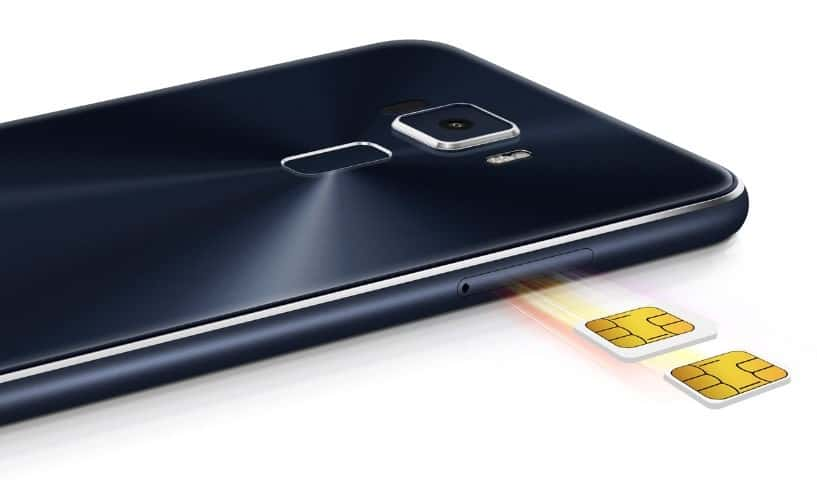 Asus ZenFone 3 - SIM Tray