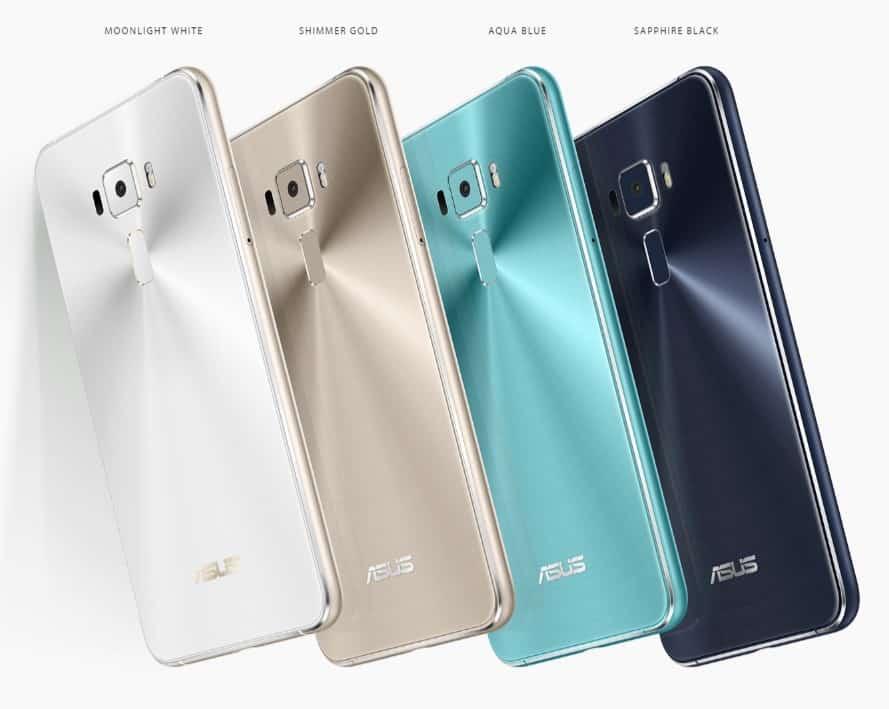 Asus Zenfone 3 - Color Variants