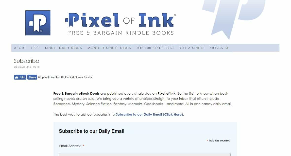 Websites an Avid Reader Must Know - Pixel of Ink