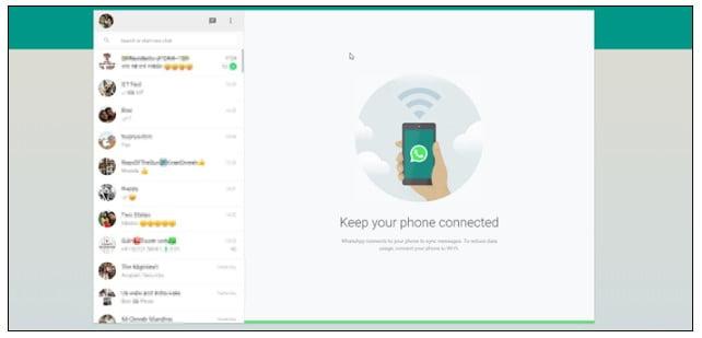 WhatsApp on Web
