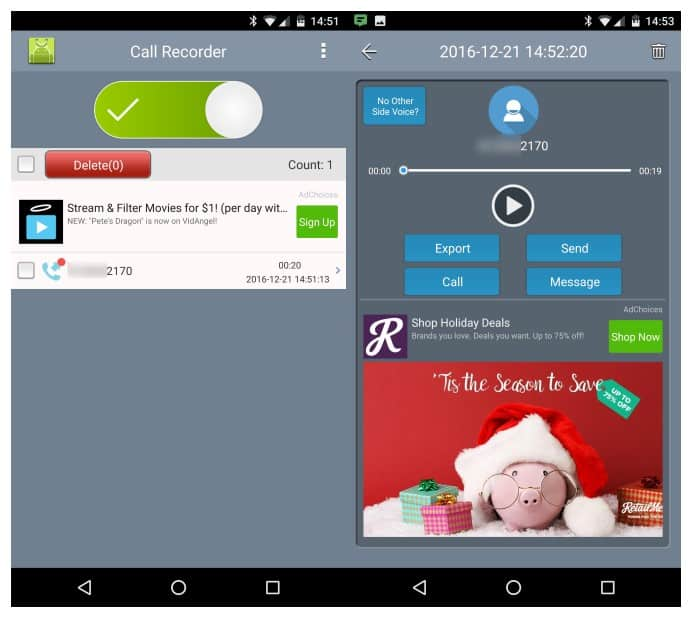 Super Call Recorder Android Application