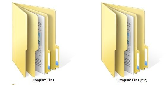 Program Files Folder - 32 bit or 64 bits