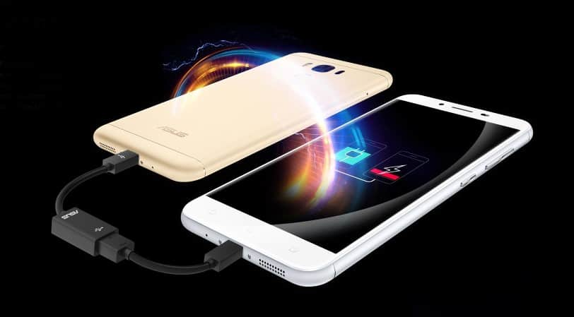 Asus Zenfone 3 Max - Reverse Charging Feature
