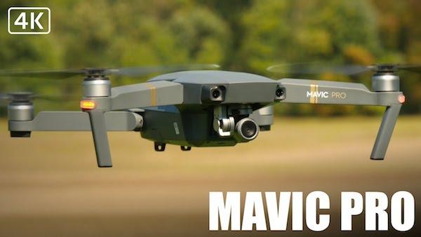 DJI Mavic pro top 3 drones