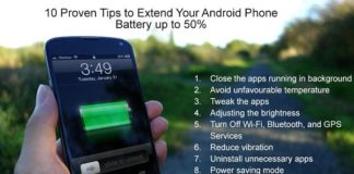 Extend Your Android Phone Battery
