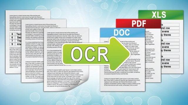 OCR software benefits