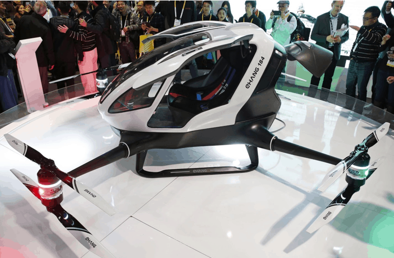 passenger drone aviation:Commercial Aviation