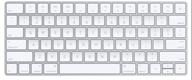 apple keyboard wireless travel gadget