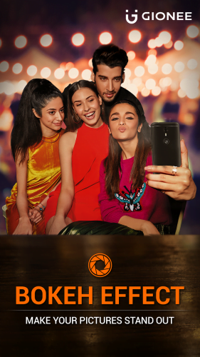 Gionee A1_Bokeh Selfie