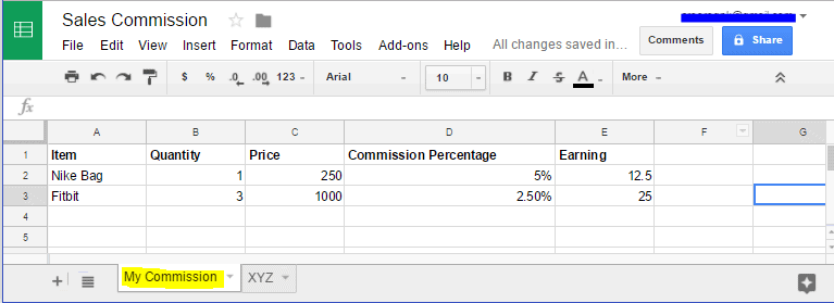 How to Share Only Specific Sheet/Single Tab in Google Spreadsheet 2