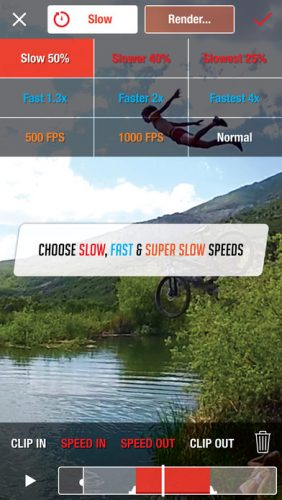 Top 12 Slow Motion Video Apps for iPhone and Android 5