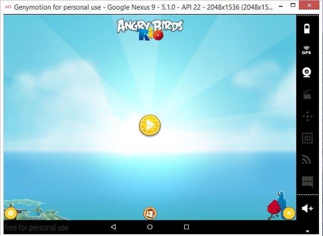 GenyMotion-Android-Emulator-9