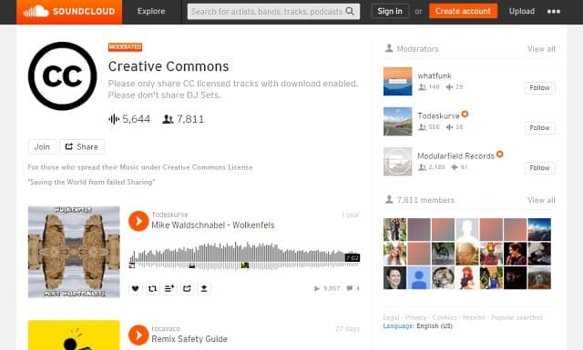 12 Best Websites To Get Free Creative Commons Music for YouTube 1