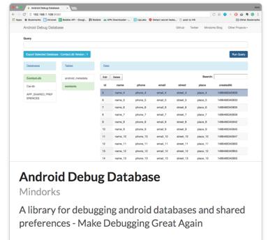 mindorks android debug tools
