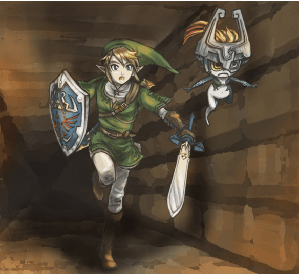 Link is a character from The Legend of Zelda