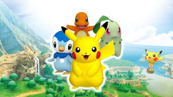 Pikachu video game character