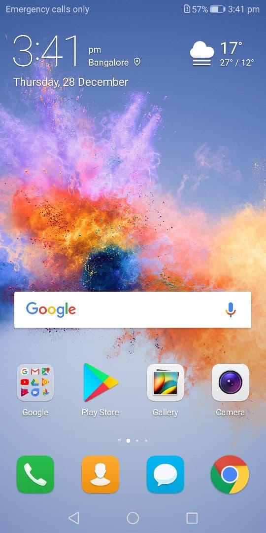 honor 7x review the homescreen