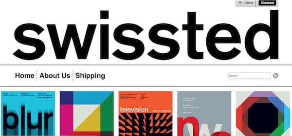 swissed wordpress design