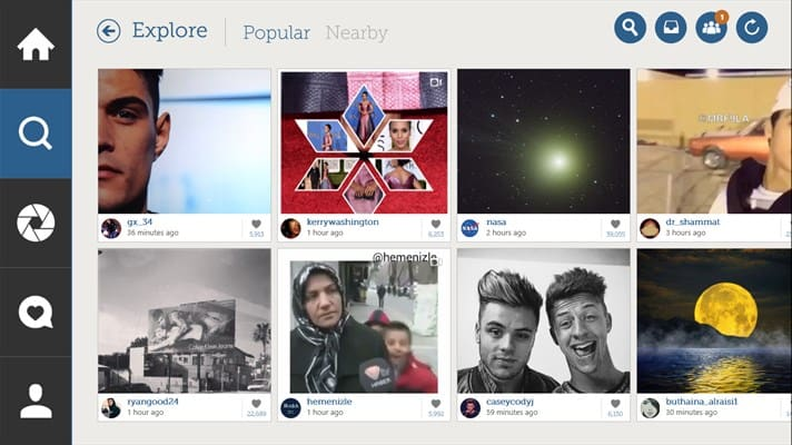 TechGYO_Instagram App for Windows 10