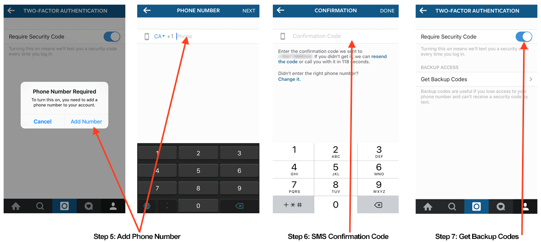 TechGyo_Two-factor authentication- instagram updates
