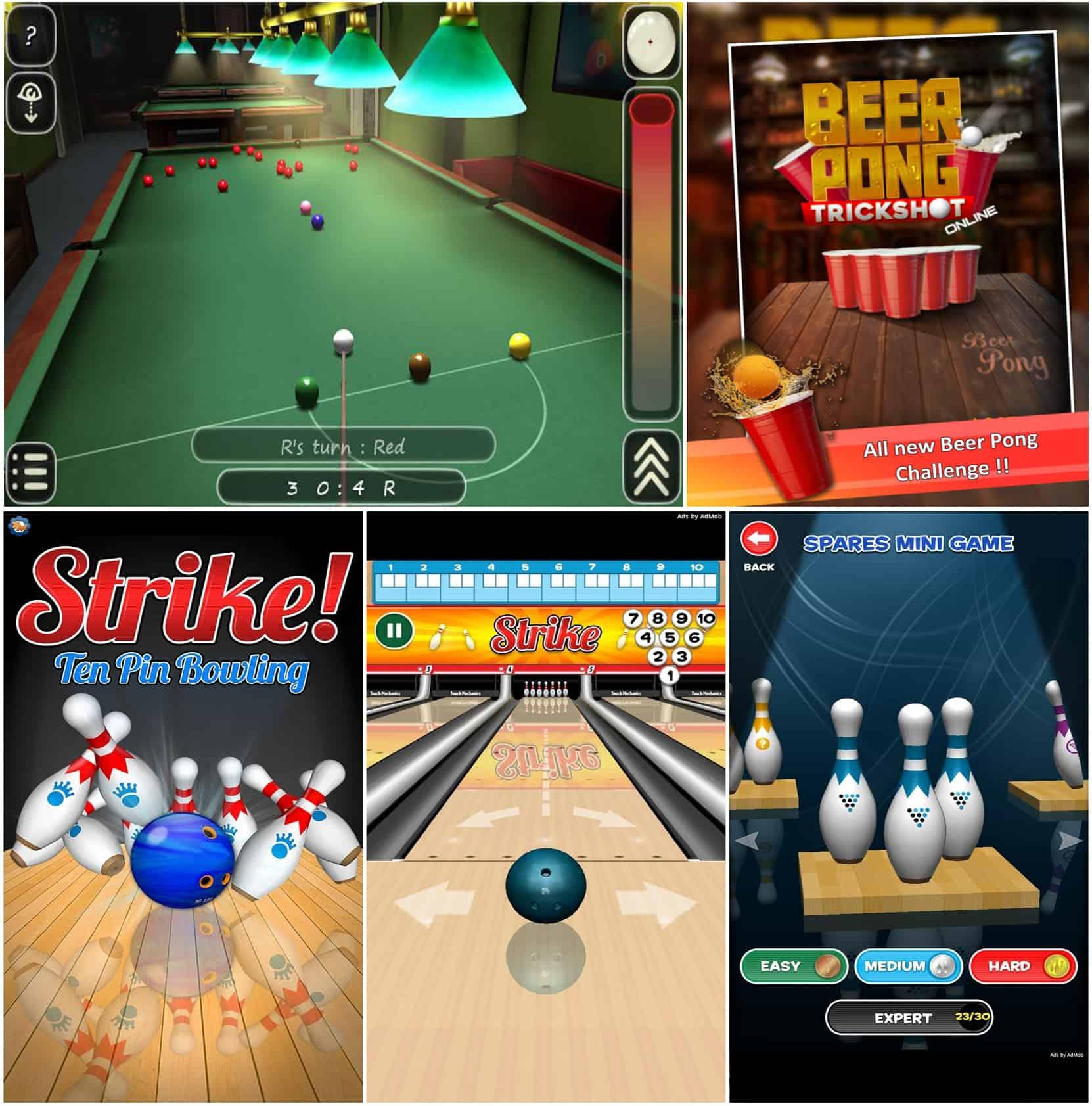 TechGYO_Pool 3D, Beer Pong, Strike!