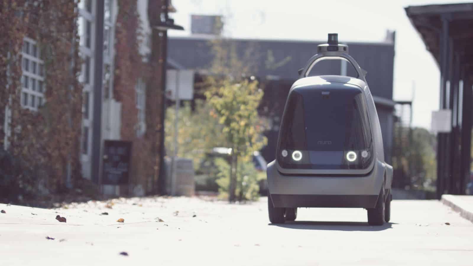 TechGYO_Nuro's Robotic Delivery Vans over Self Driven Cars