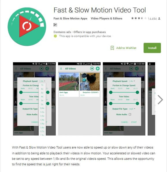 Top 5 Best Slow Motion Video Apps to Try out Some Slow-Mo Fun 5