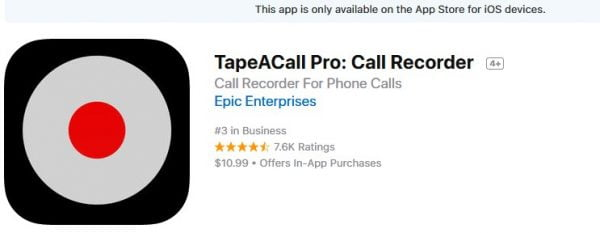 Best call recorder applications for iPhone that you can use 1