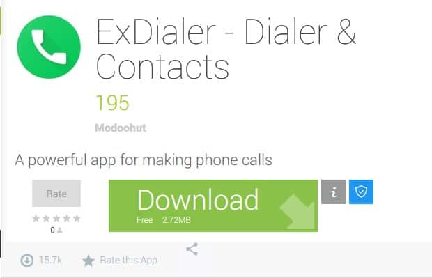 7 Best Android dialers that you should try out 4