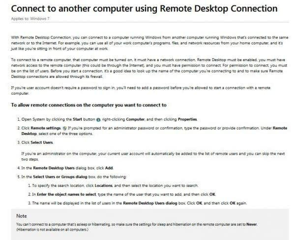 Windows Remote Desktop Connection best Teamviewer alternative