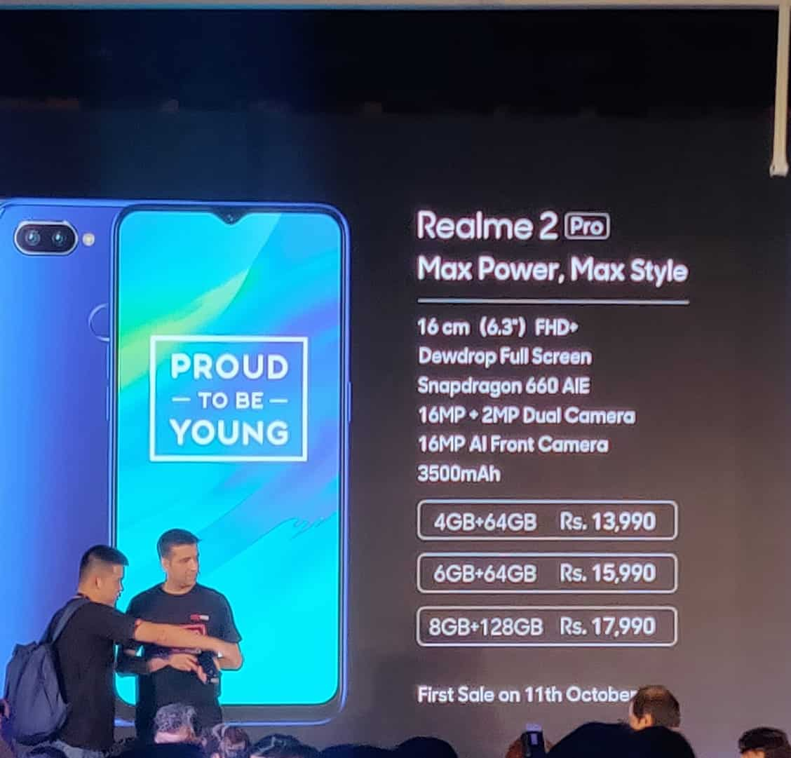 RealMe 2 Pro First Impression - Power packed spec to disrupt the market segment. 5