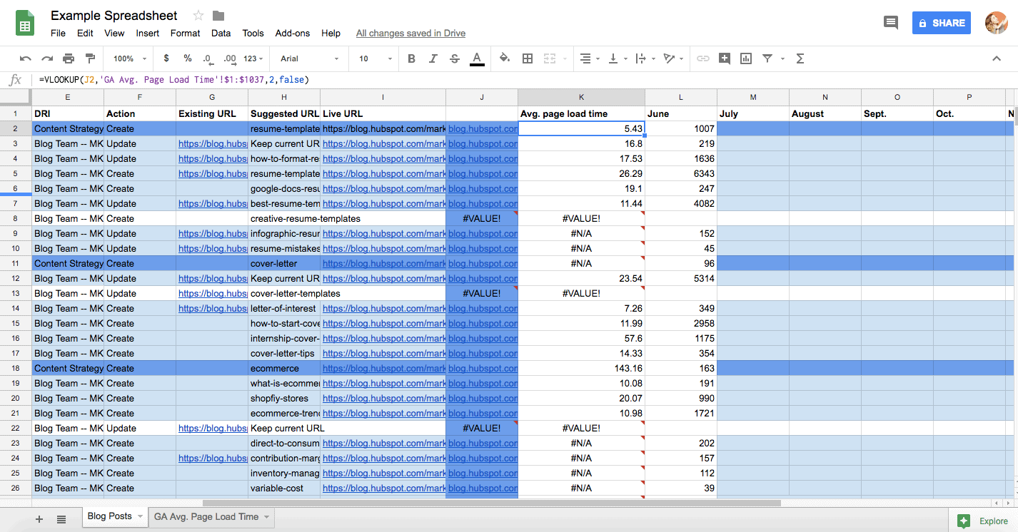 Visualising Time: A Project Management How-To Using Google Sheets 5
