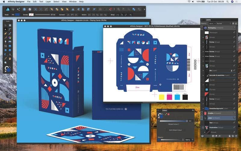 Affinity Designer: logo design
