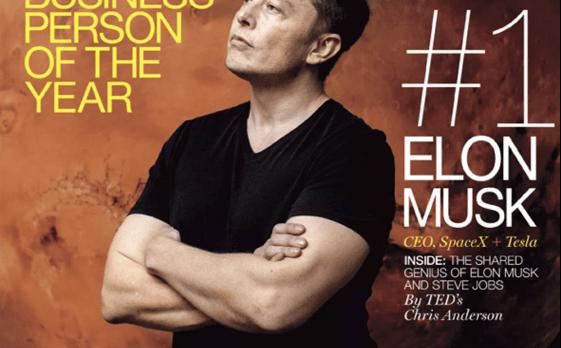 Elon musk on Fortune magazine
