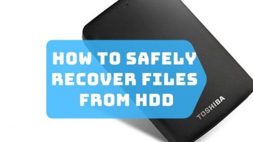 How to Safely Recover Files from Toshiba Hard Drive: Important Tips to Protect Toshiba HDD 1