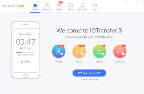 IOTransfer - Ultimate Tool for File Transfer, Download and Convert videos on iPad and iPhone 1