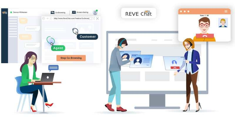REVE Chat - Omni channel Live Chat Platform for Customer Engagement 1