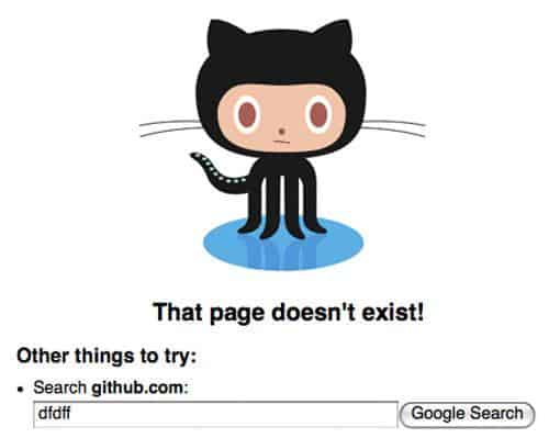 The Art of Making Awesome 404 Error Page 2