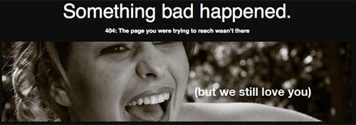 The Art of Making Awesome 404 Error Page 1