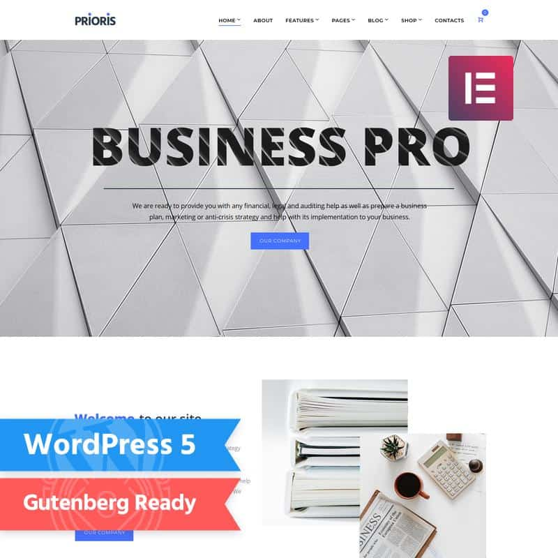 Top 10 WordPress Themes for Startups 8