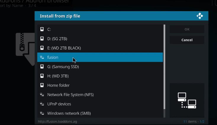 how to watch nfl on kodi