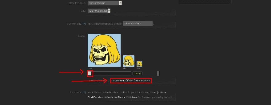 remove Steam Profile Picture