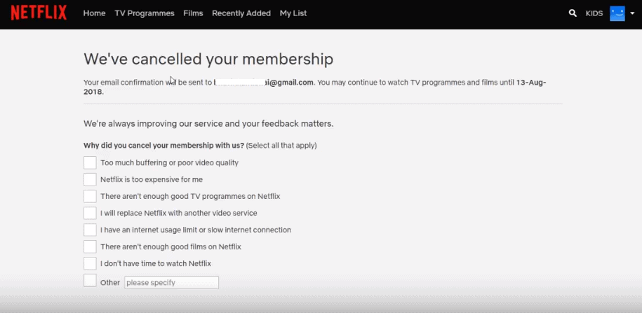 How to Cancel Netflix Free Trial 4