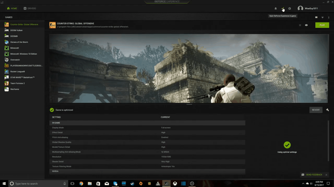 How To Record Games using Nvidia Driver's ShadowPlay 5